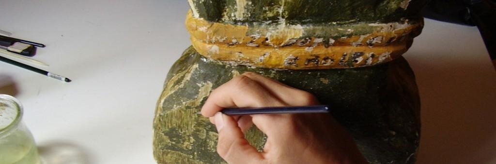 Restauración escultura policromada